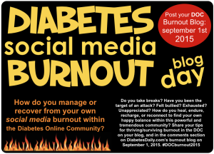 DiabetesSocMedBurnout